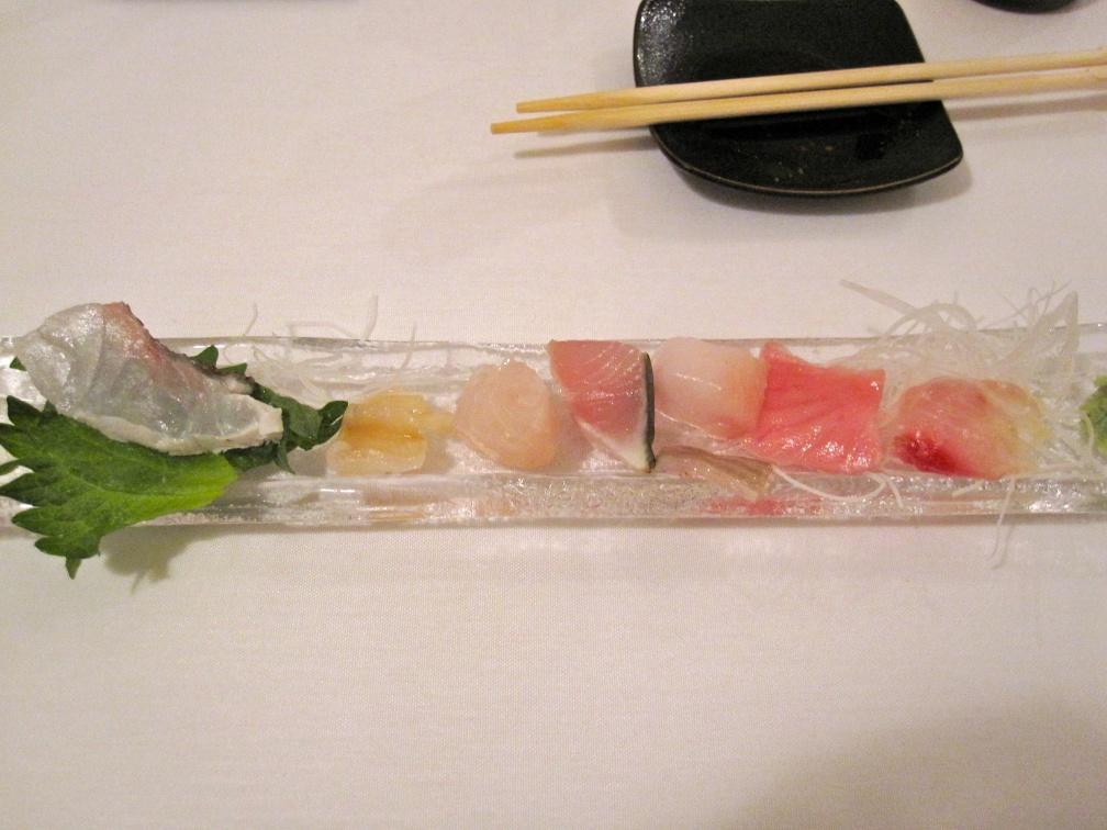 sashimi of the gods