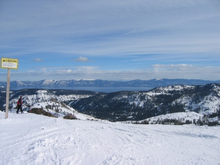 view from top squaw