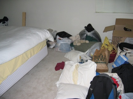 The Bedroom moving in
